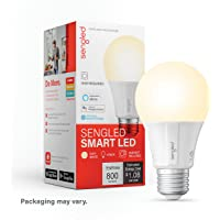 Sengled Element Classic A19  1 Pack - 60W Equivalent Soft White (2700K) Smart LED Bulb (Compatible with Amazon Alexa, Google Assistant, Samsung SmartThings and Wink)