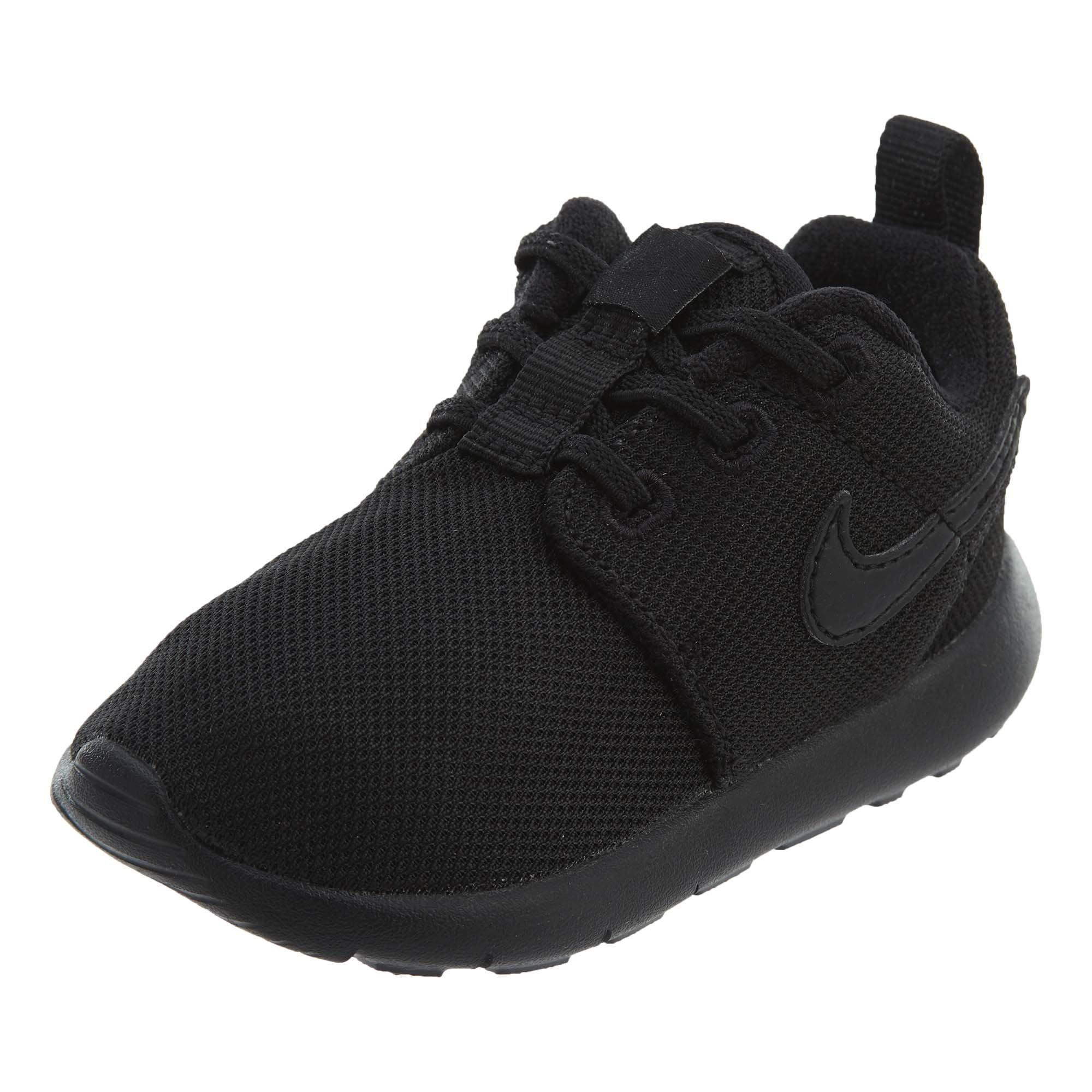 Nike Toddlers' Roshe One (TDV) Black Fabric Running Shoe 7 by Nike (Image #1)