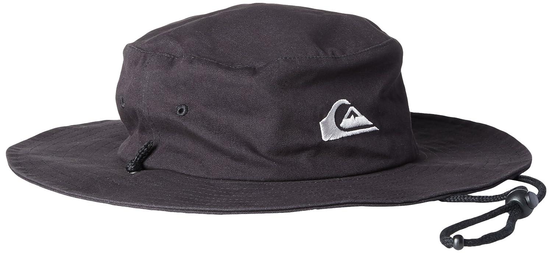 5f7df7d3 ... best price quiksilver mens bushmaster floppy sun beach hat amazon  clothing 5be40 0d677