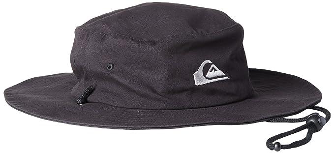 b67c77cb271 usa quiksilver mens bushmaster sun protection bucket hat baseball cap  black3 82a48 74d8a