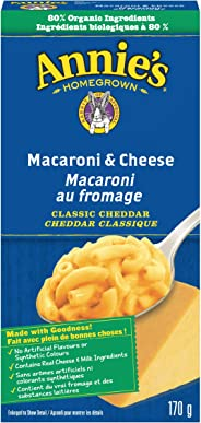 Annie's Homegrown Macaroni & Cheese Classic Cheddar, 170 Grams