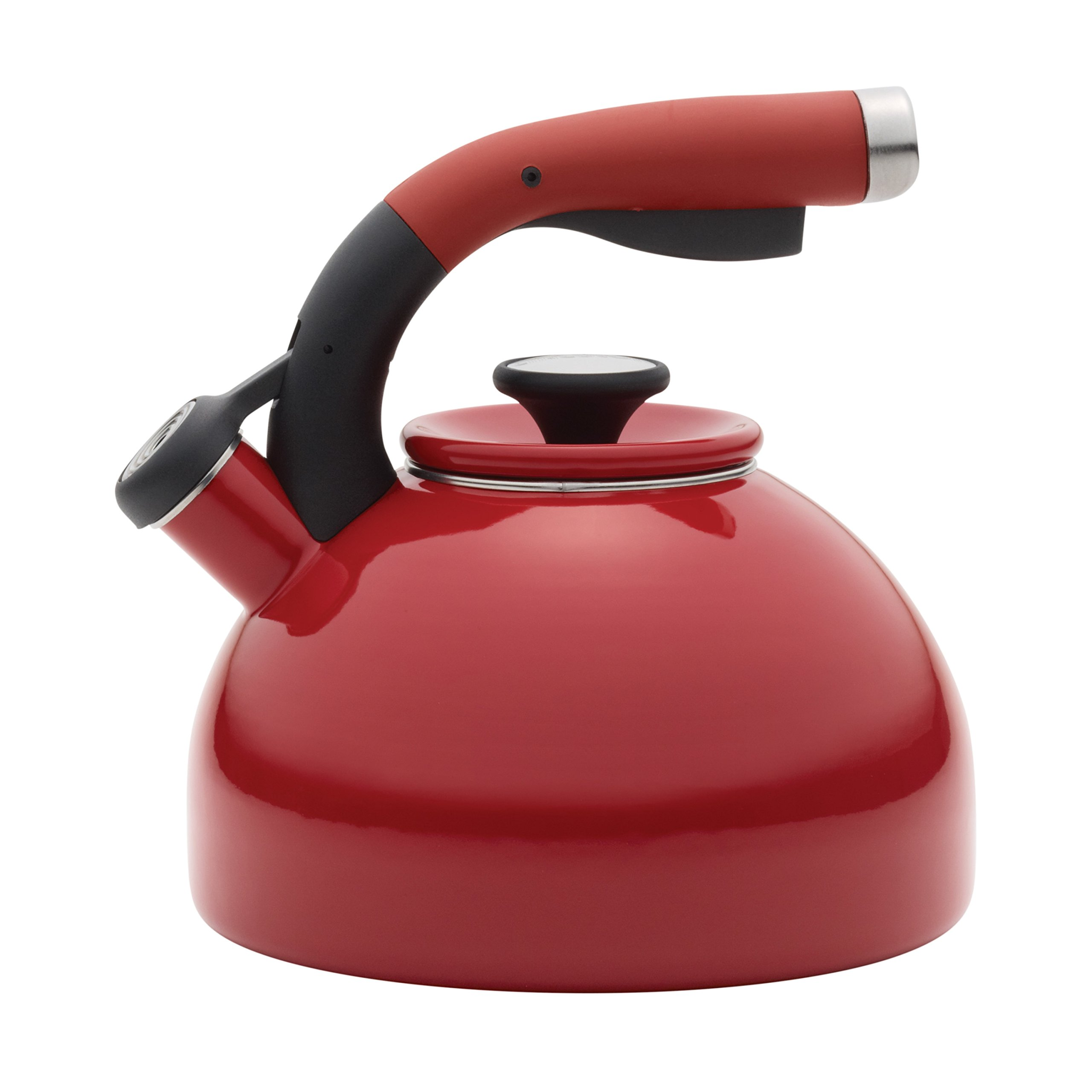 Circulon 2-Quart Morning Bird Teakettle, Circulon Red by Circulon (Image #1)