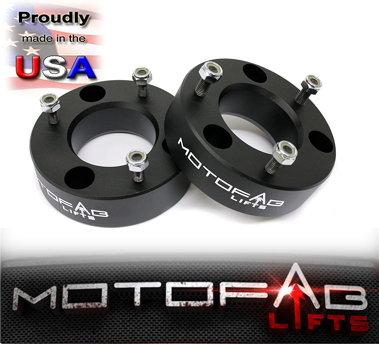 MotoFab Lifts F150-2.5-2.5 Front Leveling Lift Kit That Will Raise The Front Of Your F150 2.5