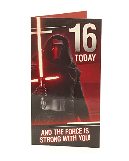 Amazon Star Wars 16th Birthday Card Office Products