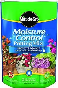 Miracle-Gro Moisture Control Potting Mix, 8-Quart
