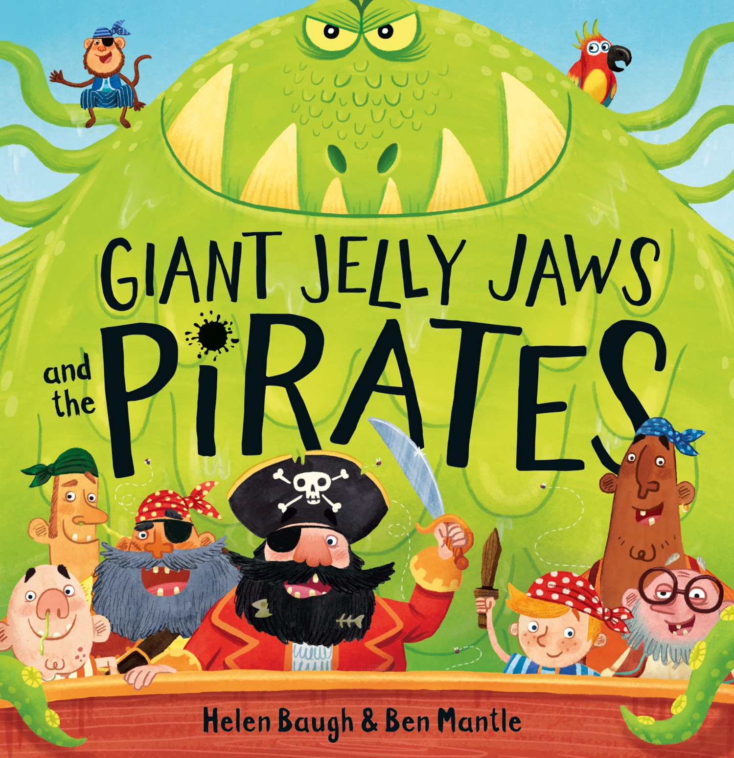Giant Jelly Jaws And The Pirates  English Edition
