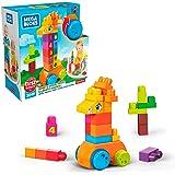 Girafa Conta e Brinca, 30 peças, Mega Bloks, Mattel