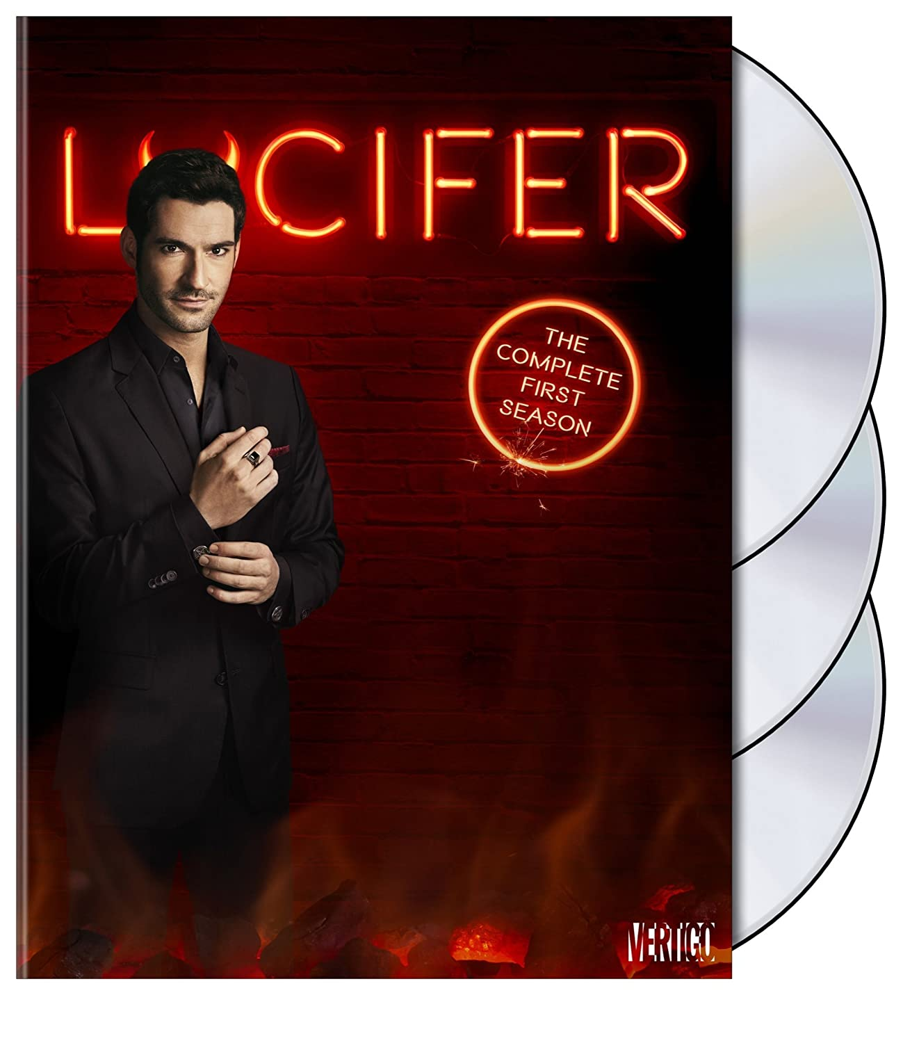 LUCIFER TV Show PHOTO Print POSTER Series Cast Tom Ellis Season Lauren German 02