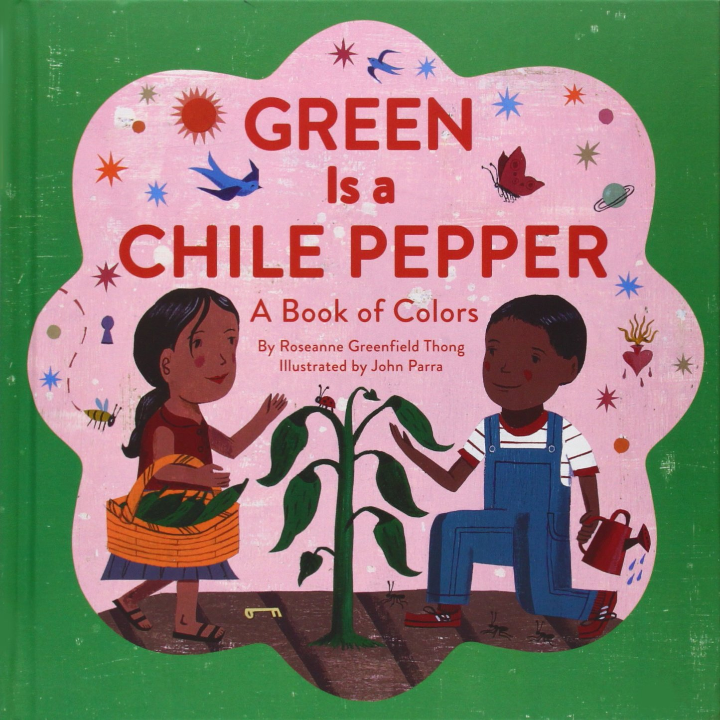 Green is a Chili Pepper: A Book of Colors (Multicultural Shapes and Colors) pdf