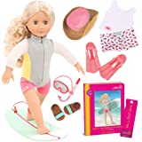 Our Generation Deluxe Coral Doll With Book - 3 Years And Above, For 3 Years & Above (BD31065ATZ)