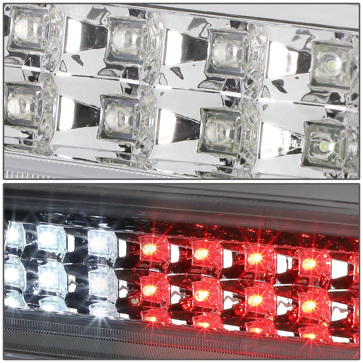 DNA Motoring 3BL-F15012-LED-CH LED Third Brake Light
