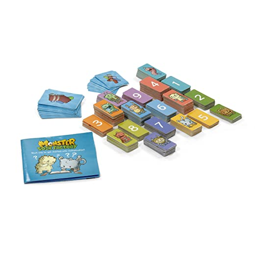 Amazon.com: MONSTER SOCK FACTORY First step to multiplication STEM ...