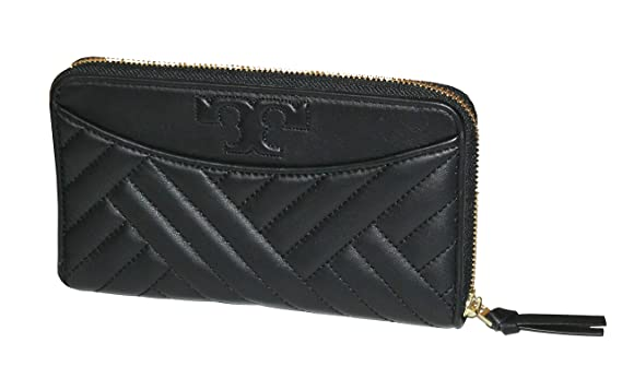f6fb391c7452 Image Unavailable. Image not available for. Color  Tory Burch Alexa Zip  Continental Wallet Leather Women s ...