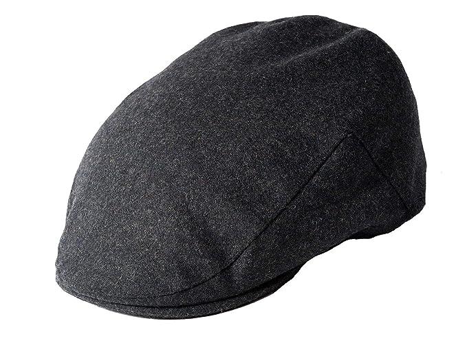 d424e8ece76 Failsworth Melton Wool Flat Cap  Amazon.co.uk  Clothing