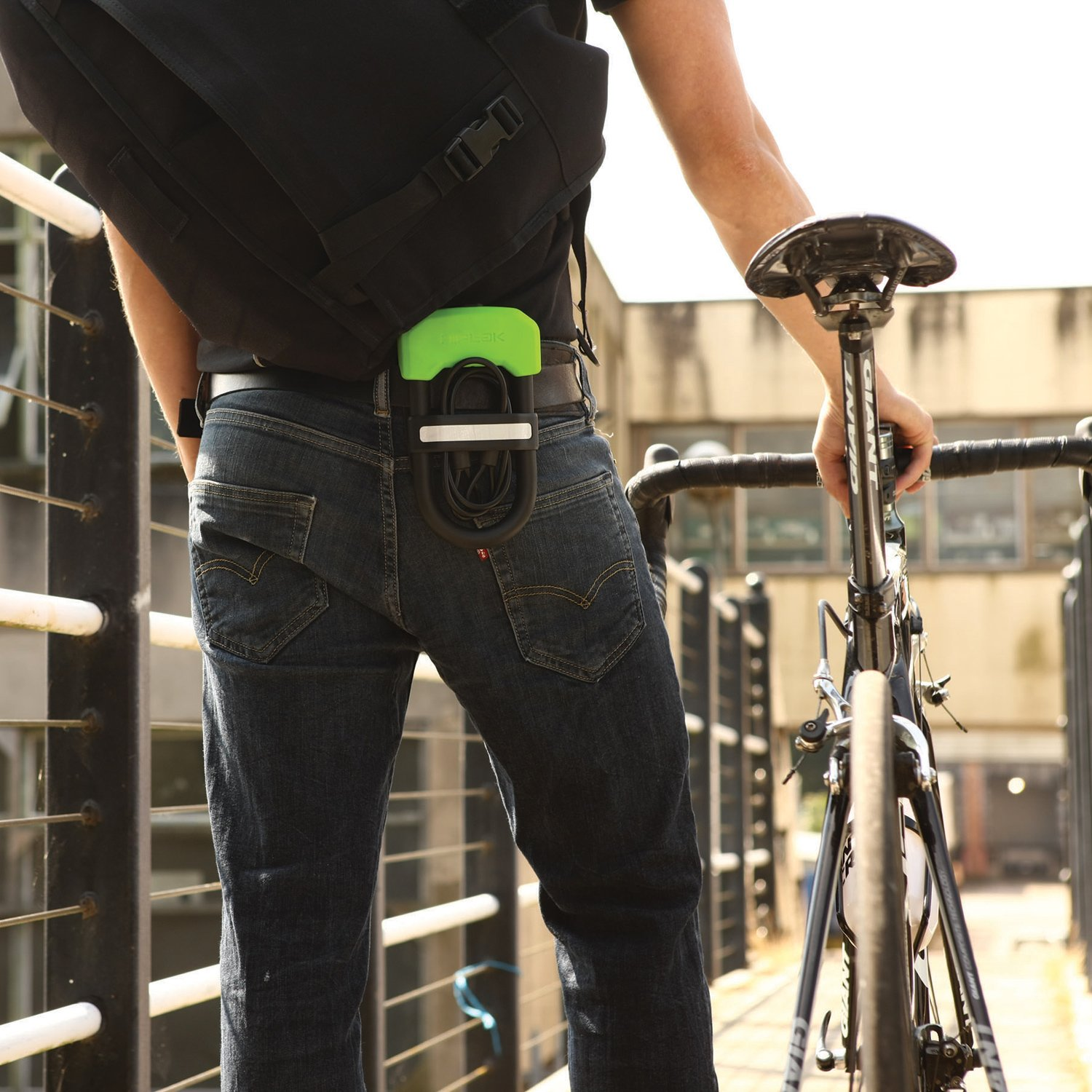 Hiplok DC Wearable Lock with Clip 13mm