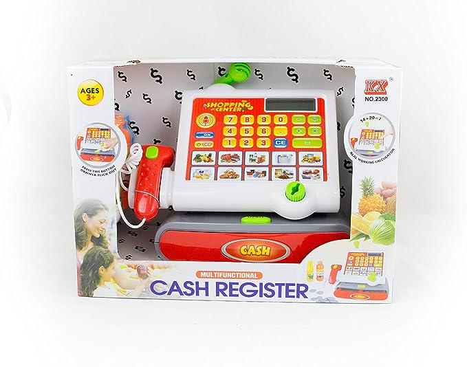 CAJA REGISTRADORA MODERNA B/O: Amazon.es: Juguetes y juegos
