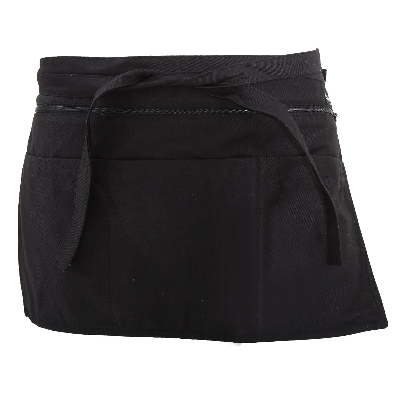 Dennys Full Zip Multi Pocket Workwear Apron UTBC265_1