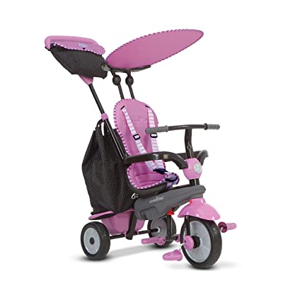 smarTrike Shine 4 in 1 Baby Tricycle - Pink: Toys & Games