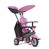 Smartrike Shine 4 in 1 Baby Tricycle - Pink