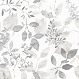 NuWallpaper NUS3144 Grey Breezy Peel & Stick Peel and Stick Wallpaper