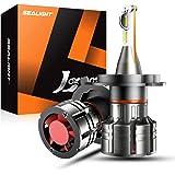 SEALIGHT H4/9003/HB2 LED Headlight Bulbs, 300% Brighter Than Halogen Ultra-thin 60W Hi/Lo Beam LED Headlights Conversion…