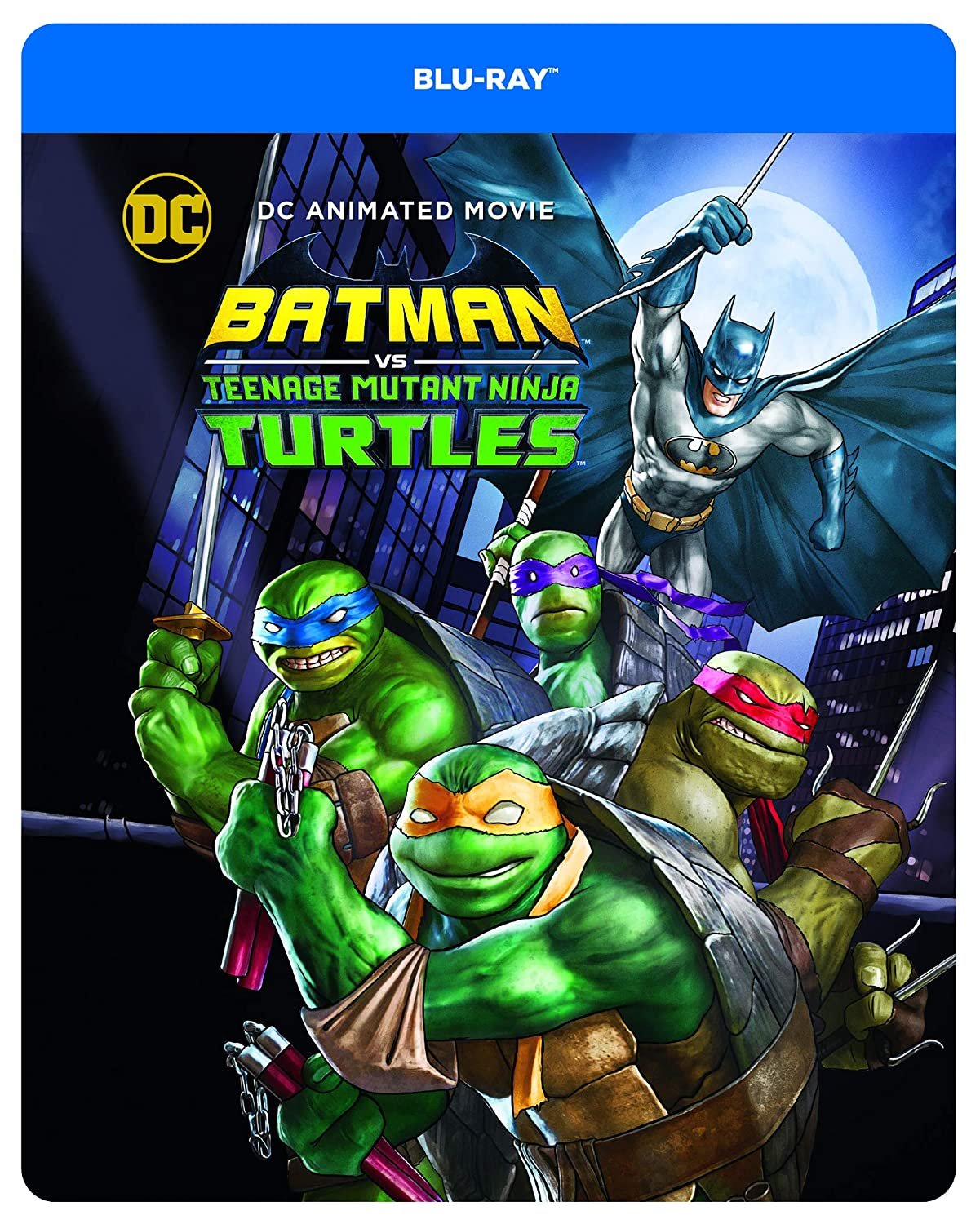 Batman vs. TMNT [Francia] [Blu-ray]: Amazon.es: Jake ...