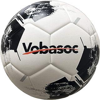 Vobasoc Football # 5 Training Teaching Competition Standard Ball Adulto Bambino Diamond Pattern Alta elasticità PU Calore Bonding Calcio