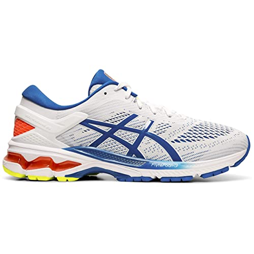 Buy ASICS Men's White/Lake Drive Running Shoes - 11.5 UK (47 EU ...
