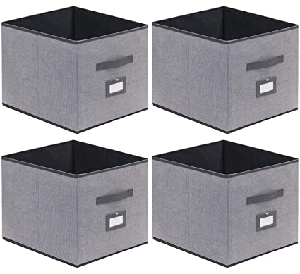 Amazoncom Onlyeasy Cloth Storage Bins Foldable Cube Storage Bin 4