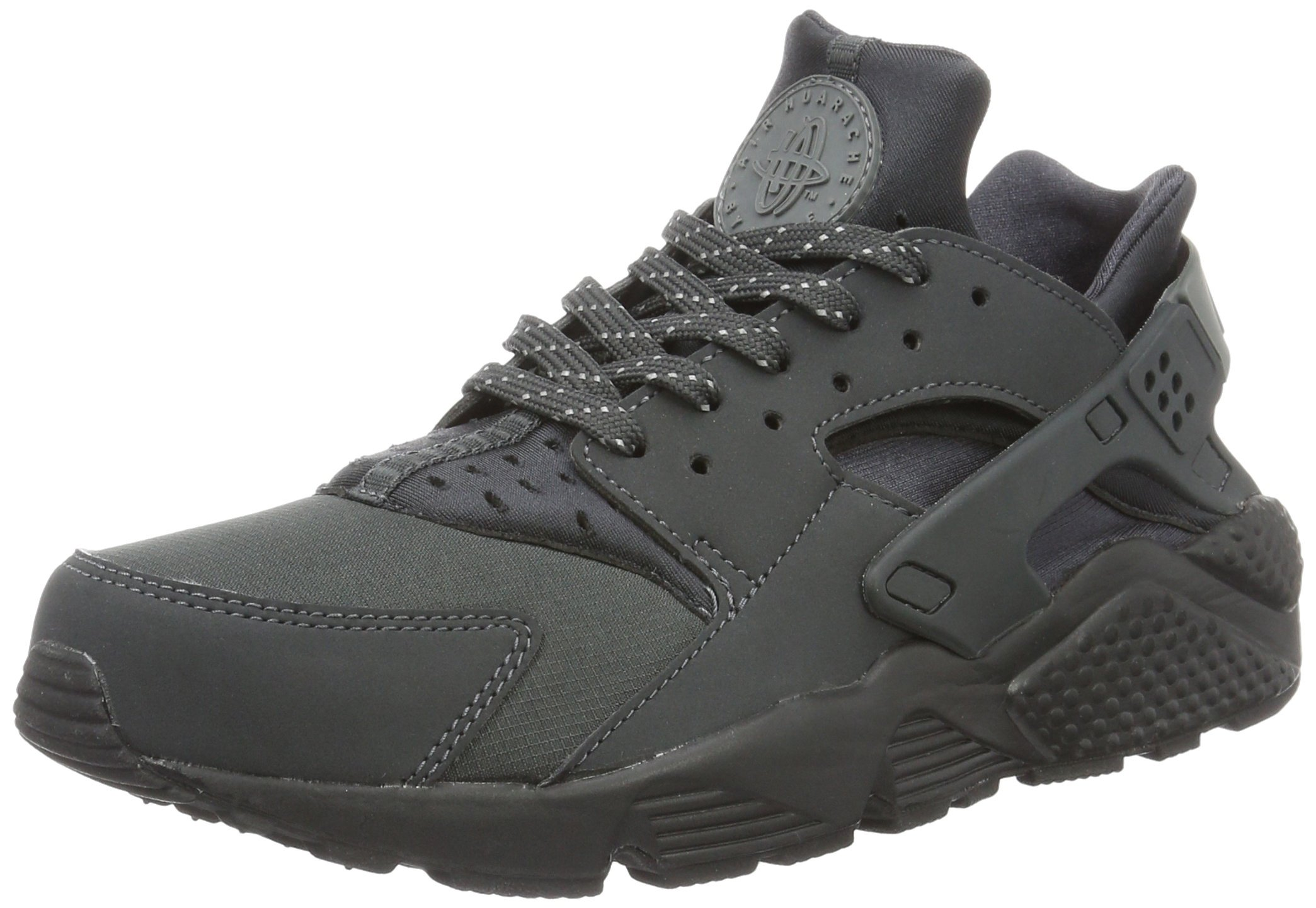 best service d2369 628f0 Galleon - Nike Mens Air Huarache 3M Anthracite Grey-Black Synthetic Size  10.5