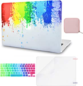 LuvCase 4 in 1 Laptop Case Compatible withMacBookPro 13
