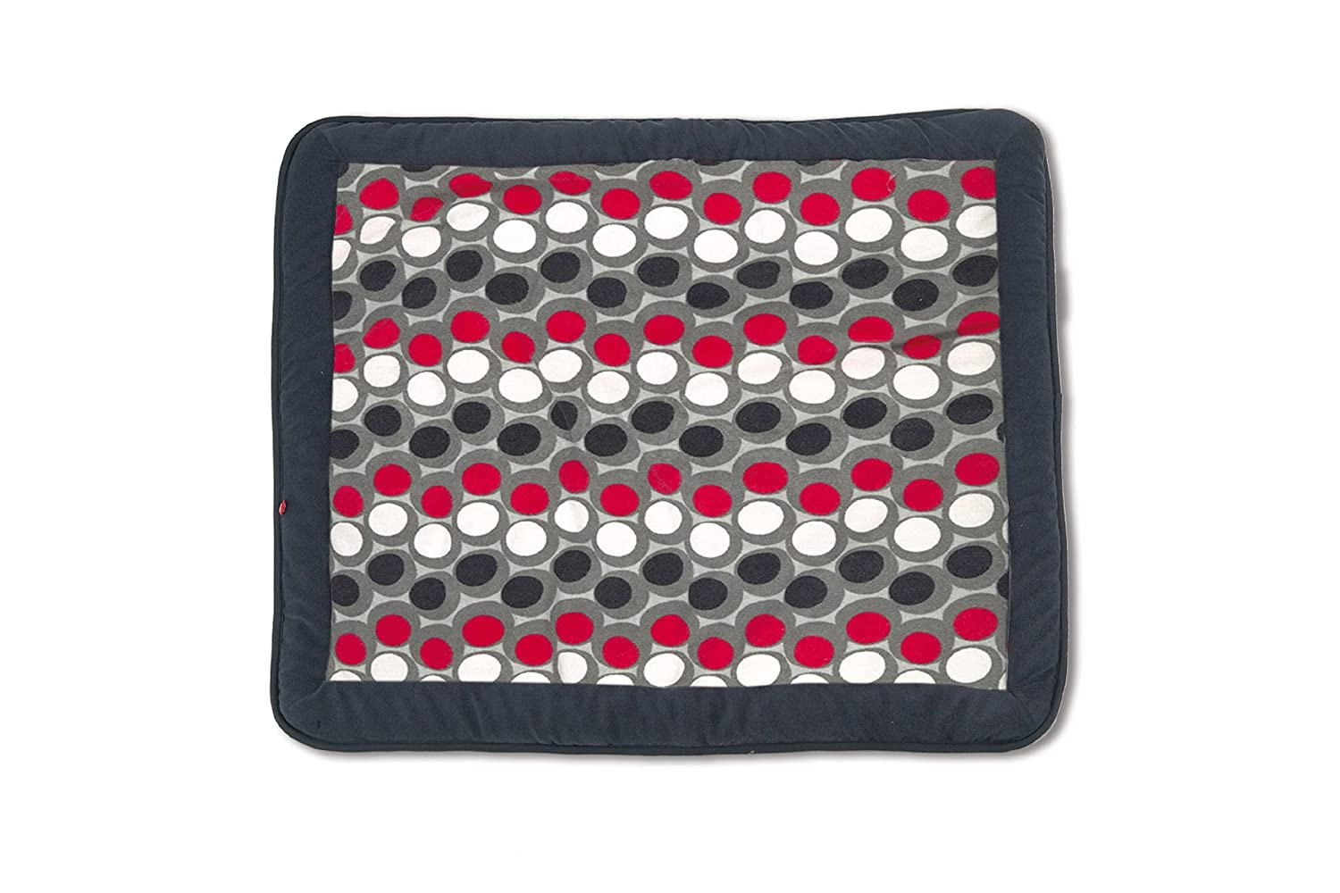 Baby Boum 75 x 95cm Super Soft Oblong Padded Play Mat/Playpen Mat (Abstract Pingu Grey, Sisko Collection) Little Helper 219SISKO94