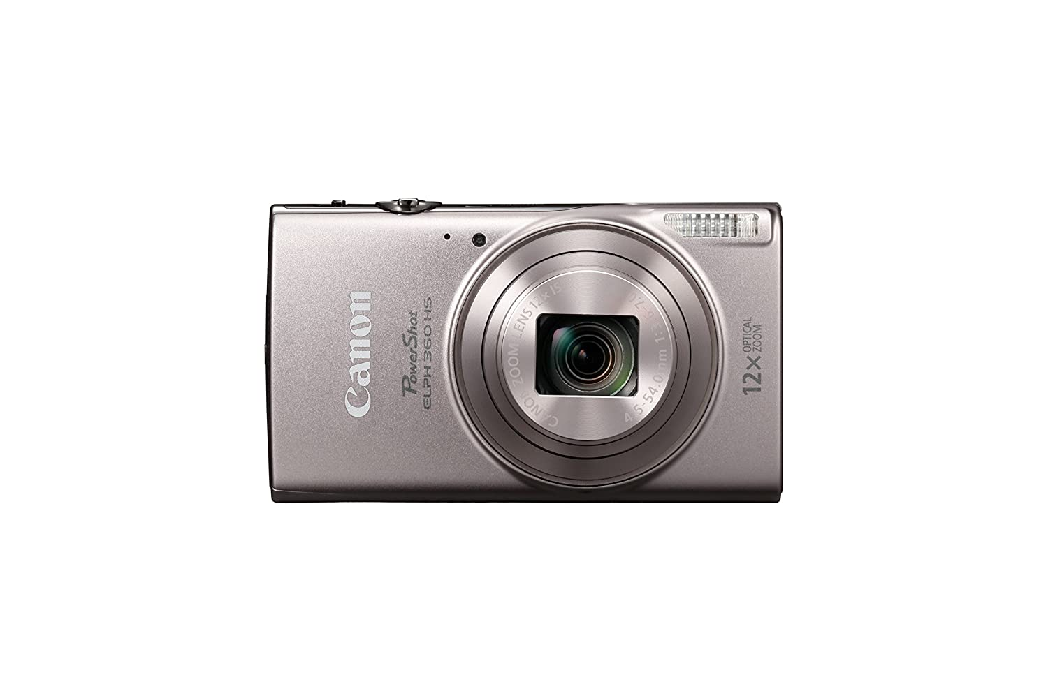 Amazon.com : Canon PowerShot ELPH 360 Digital Camera w/12x Optical Zoom and  Image Stabilization - Wi-Fi & NFC Enabled (Silver) : Camera & Photo