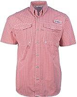 Columbia Men's Super Distant Waters Gingham Shirt