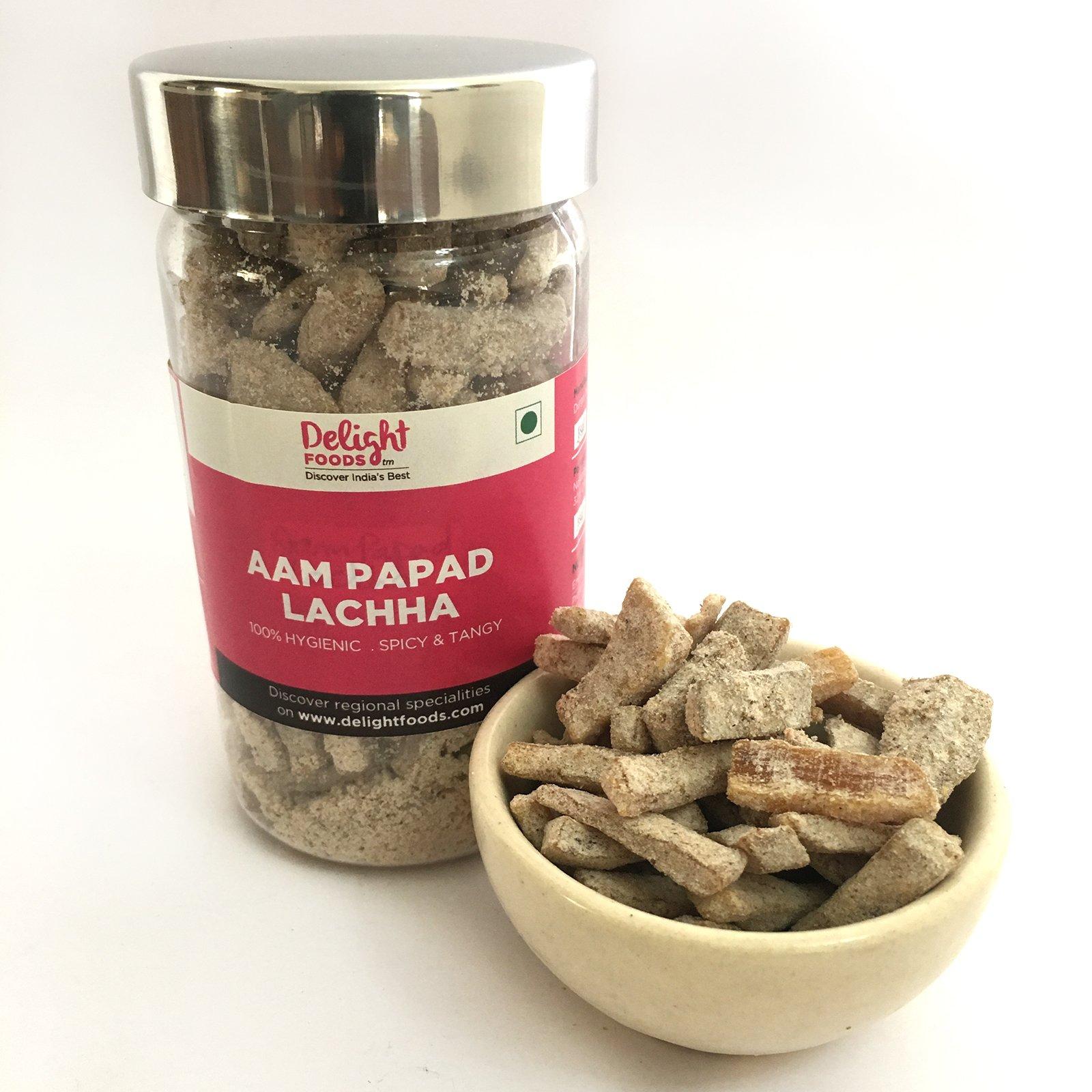 Delight Foods Aam Papad Lachha 125 Grams