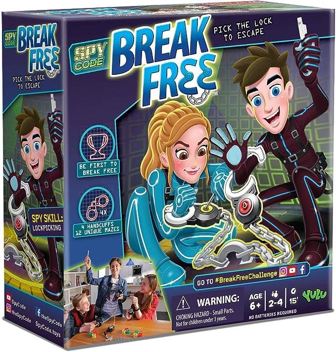 Lvein Break Free GMAE, operación Escape Room y Break Gratis Juego de Mesa-Juego de Esposas de Laberinto atlético (2-4 Jugadores): Amazon.es: Hogar