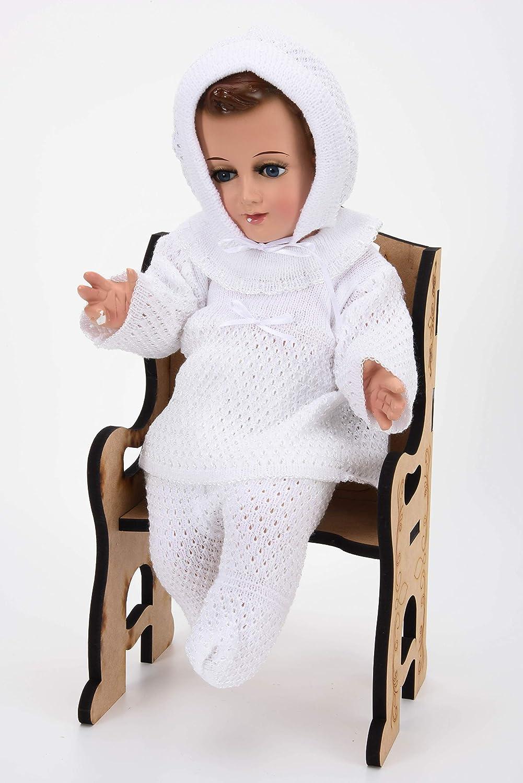 Traje Bebe Baby Jesus Outfit. Traje para Niño dios Traje Bebe (15cm)