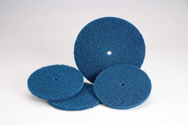 1 in A MED Standard Abrasives 35157 Quick Change TSM Buff and Blend HS Disc 840157 Pack of 50 3M