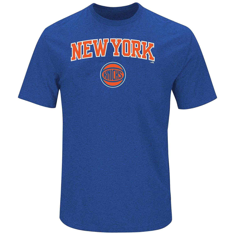 (プロファイルビッグ&トール)Profile Big & Tall NBAチーム半袖クルーTシャツ ヘザー 3X ブルー   B01MTRXVKK