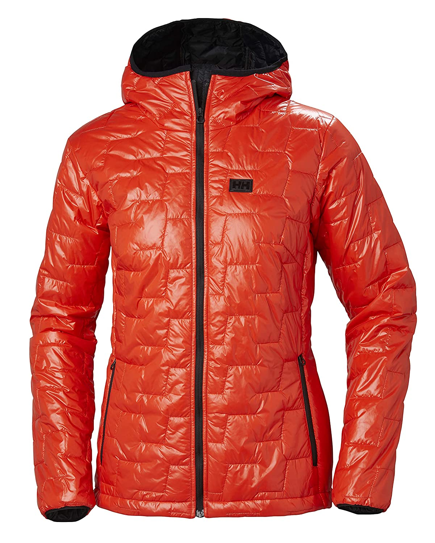 Helly Hansen 65626 Women's Lifaloft Hooded Insulator Jacket, Grenadine(911)  XL