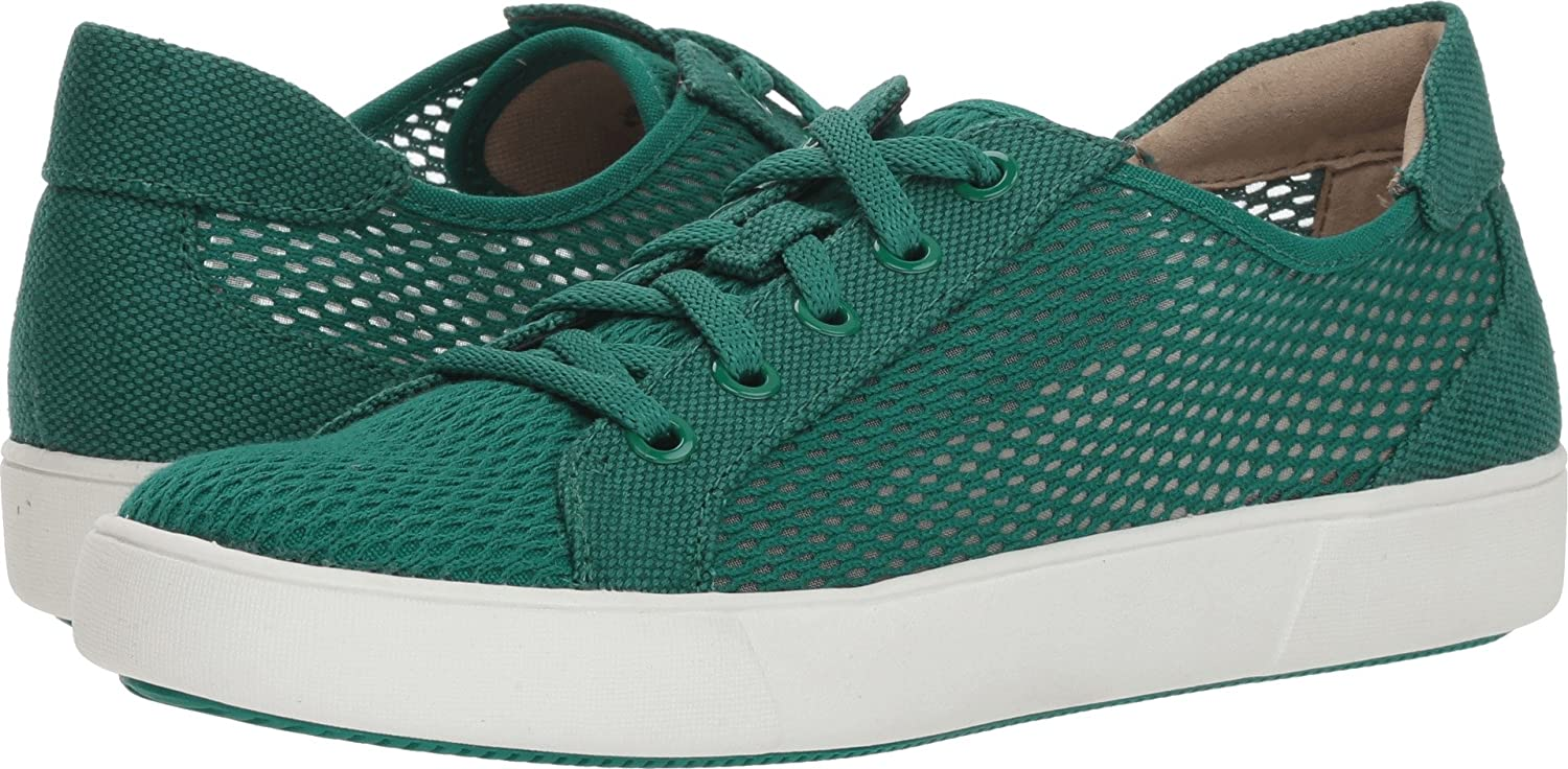 Naturalizer Women's Morrison 3 Sneaker B077C9SXYG 9 W US|Tropic Green Mesh/Canvas