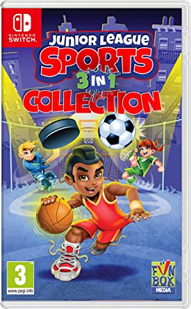 Junior League Sports 3-in-1 Collection - Nintendo Switch ...