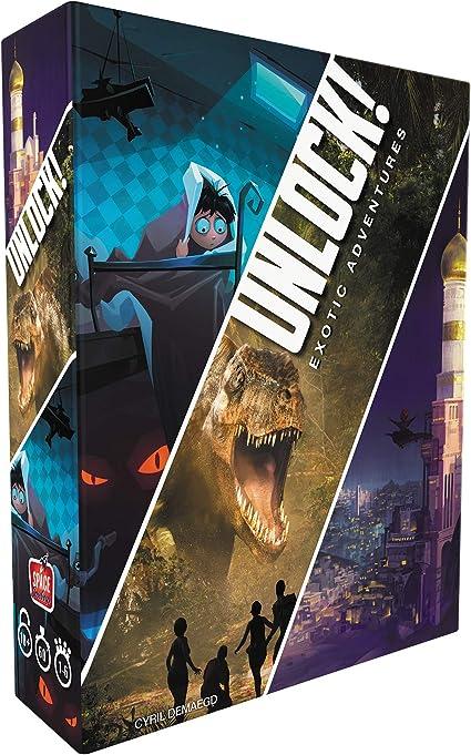 Unlock! Heroic Adventures Space Cowboys //Asmodee Deutsch Box 5 Exit Spiel