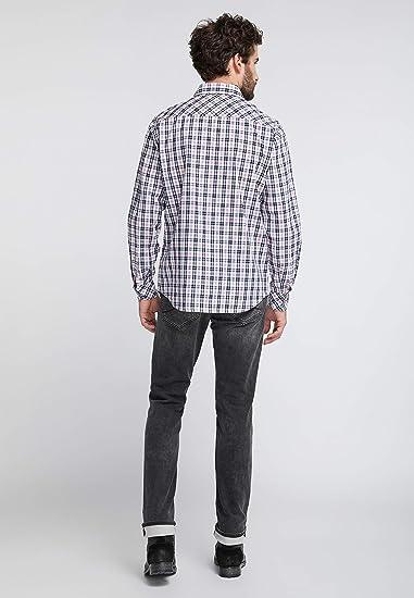 Mustang Clemens KC Indigo Camisa para Hombre