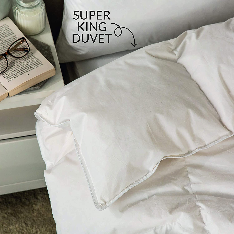 Snuggledown Wash and Dry Me Duck Down Duvet 4.5 Tog Super-King
