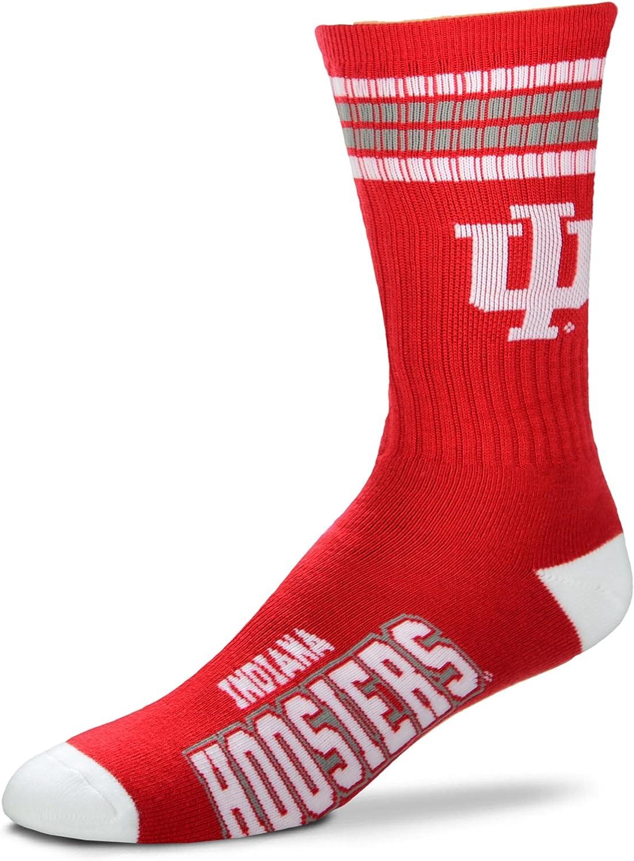 Boys//Girls For Bare Feet NCAA 4 Stripe Deuce Crew Children Toddlers Socks