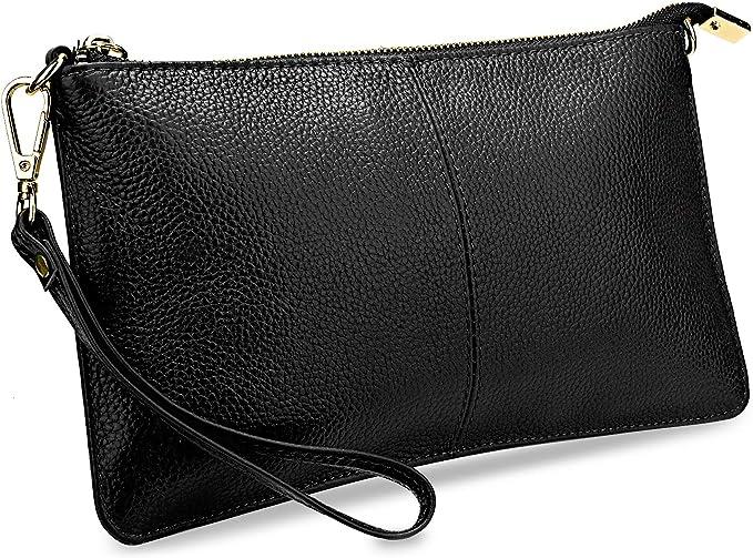 Amazon.com: YALUXE - Bolso de mano para mujer, piel ...