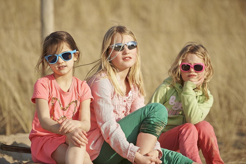 Real Kids et/à 4+ rot Rosso Occhiali da sole Bambino forma flessibile