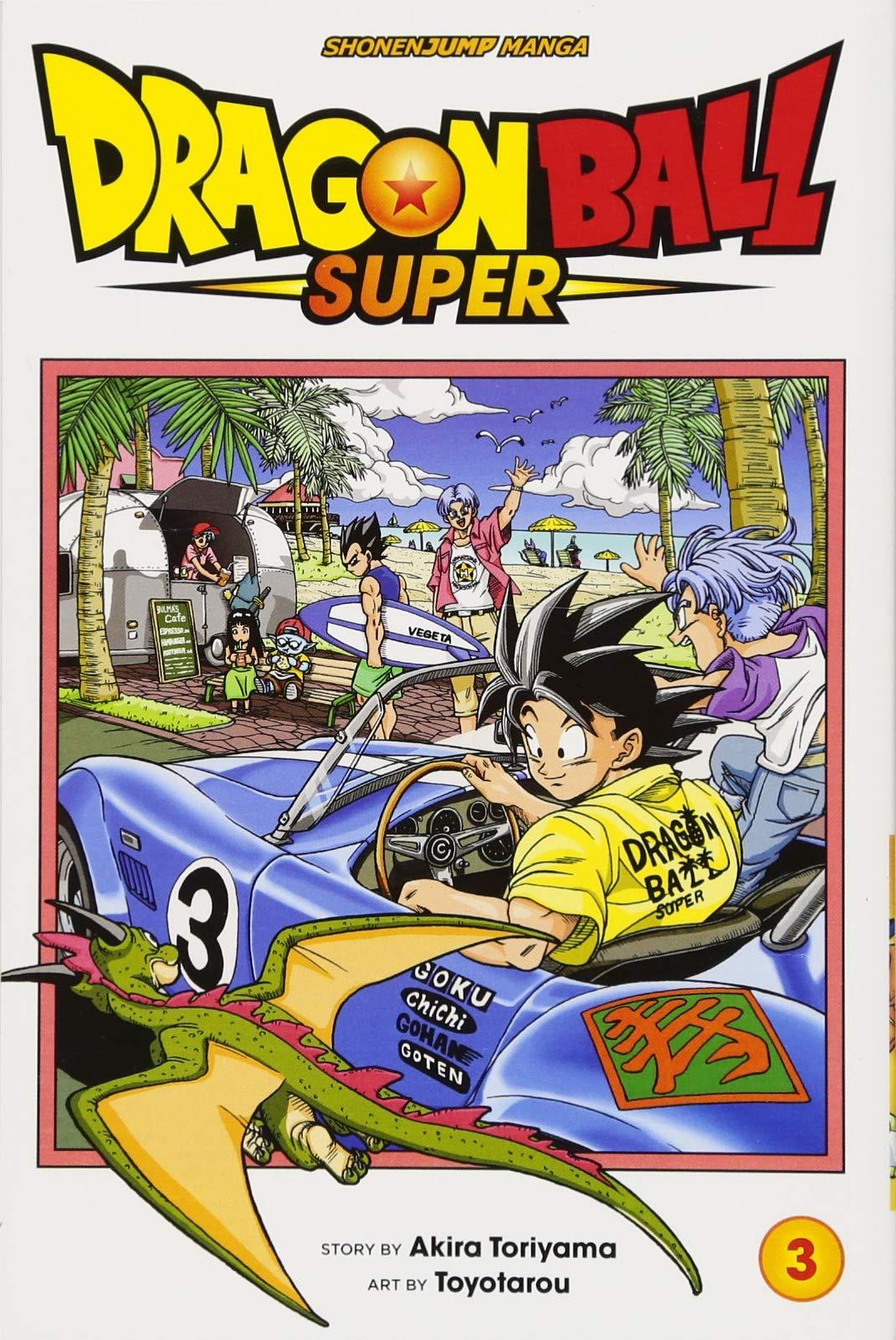 Dragon Ball Super Comic Book