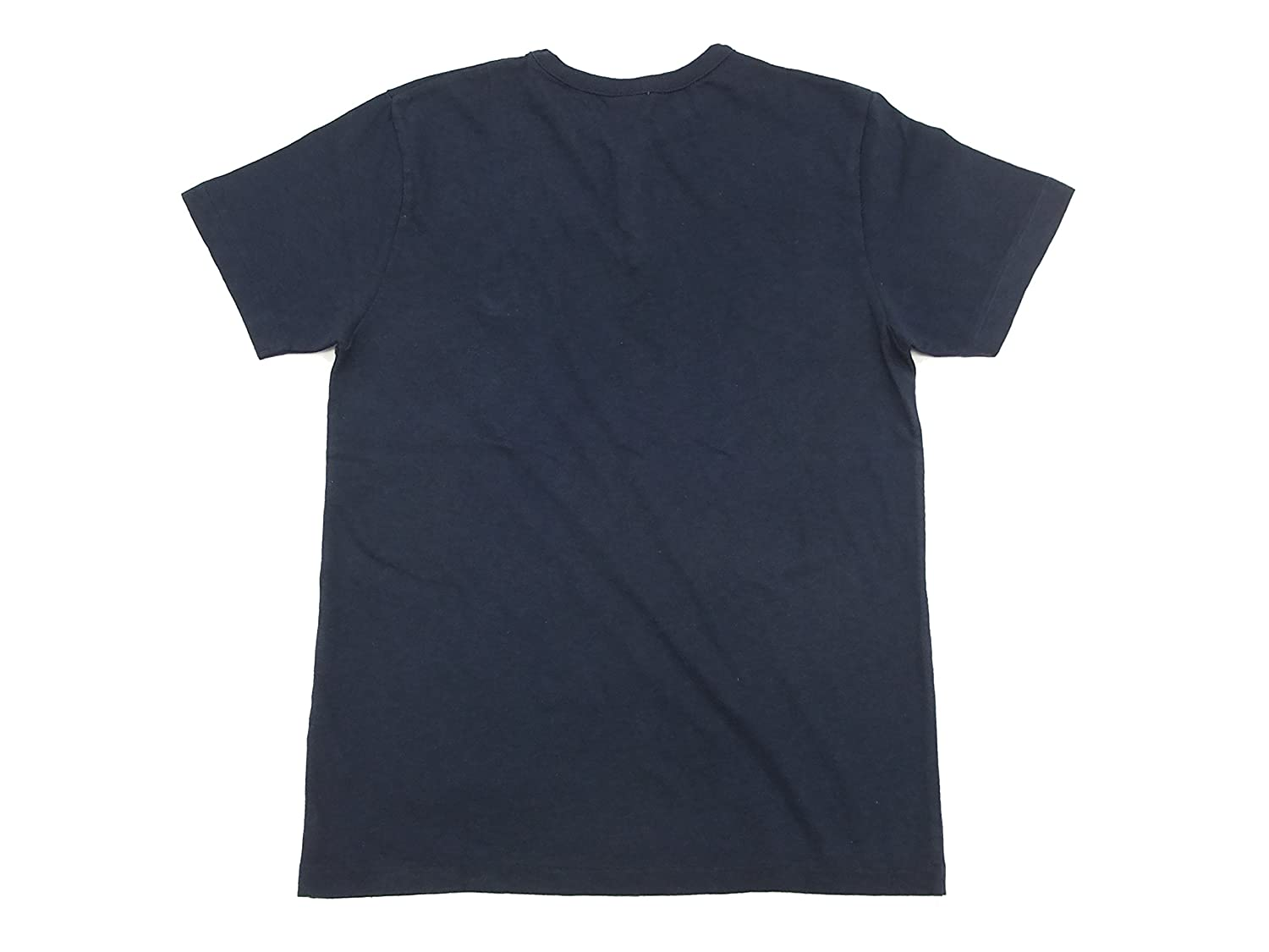 CHESWICK Henley T-shirt CH77312 Mens Short Sleeve Tee Navy